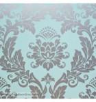 papel-de-parede-damasco-prateado-fundo-azul-turquesa-967
