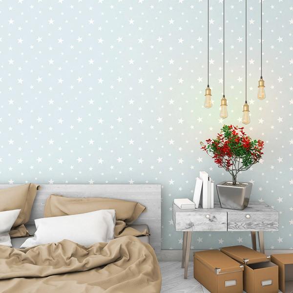 papel-de-parede-estrelas-brancas-fundo-verde-agua-003
