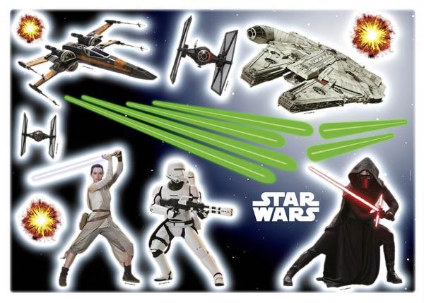 Autocolantes - 14029h star wars