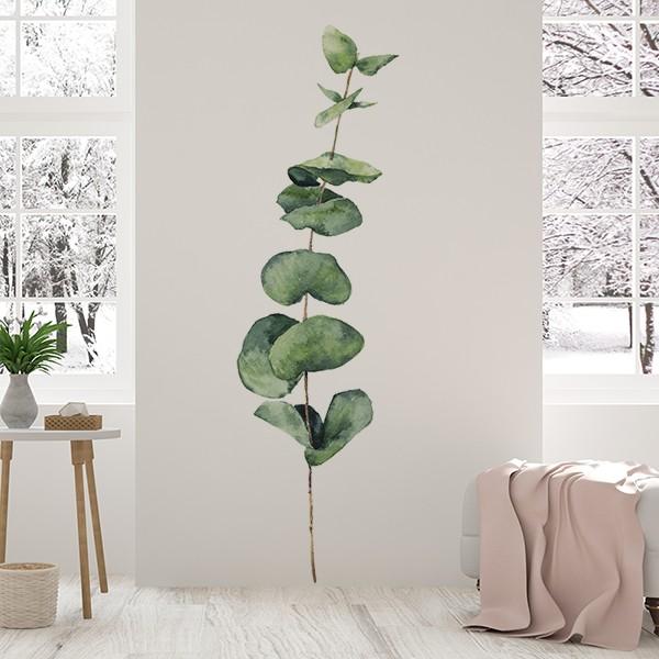 vinilo-floral-folhas-verdes-1017
