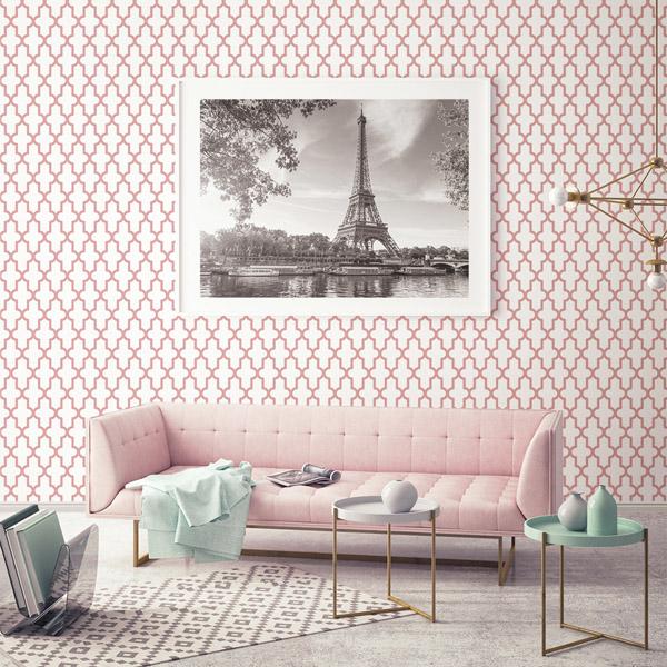 Papel de parede arabesco ref: 024