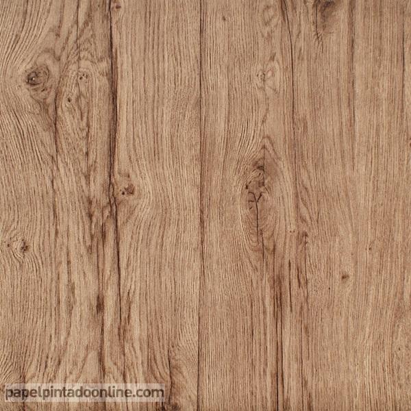 Papel para forrar parede imitação madeira