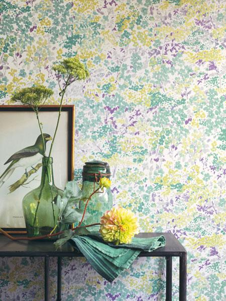 Papel de parede Colorido Florescence