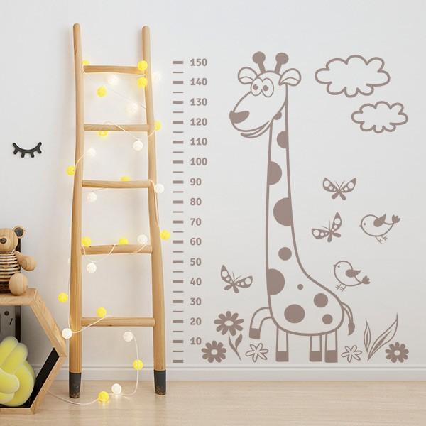 Vinil decorativo infantil girafa