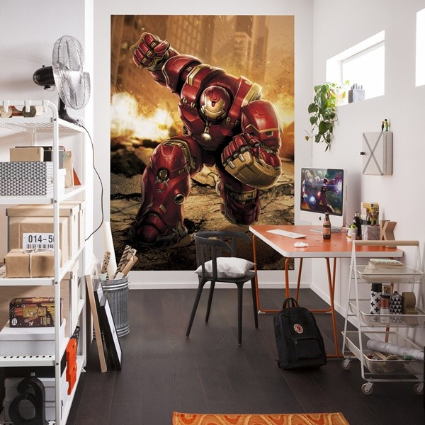 Fotomural Iron Man marvel