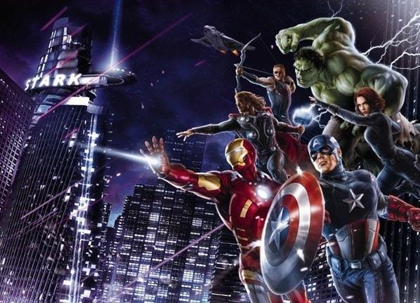 Painel Vingadores Marvel