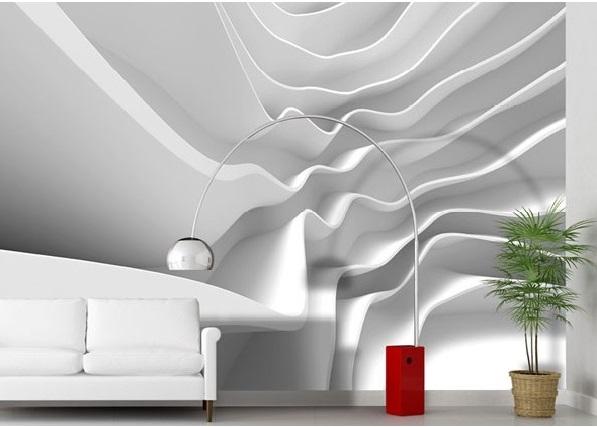 Fotomural No woven efeito 3D