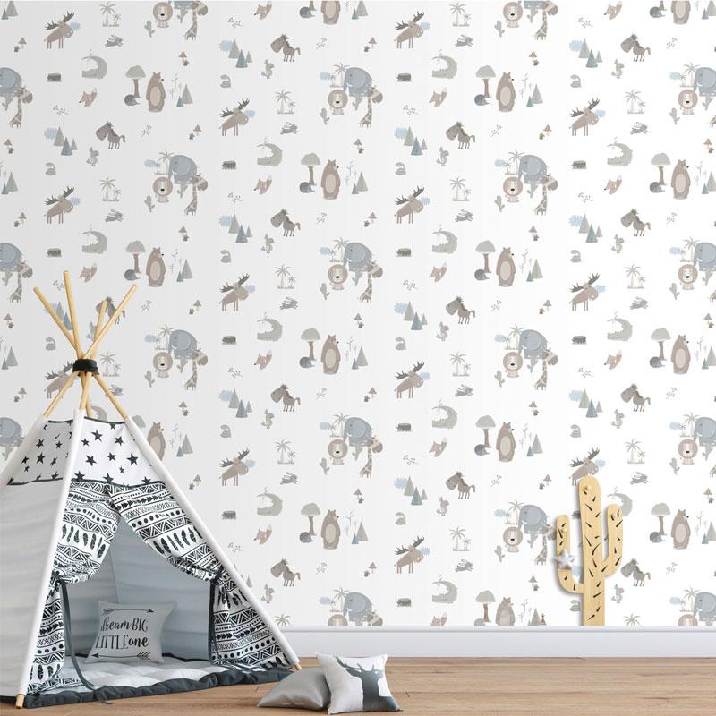 Papel de parede Animais Coleção Sambori