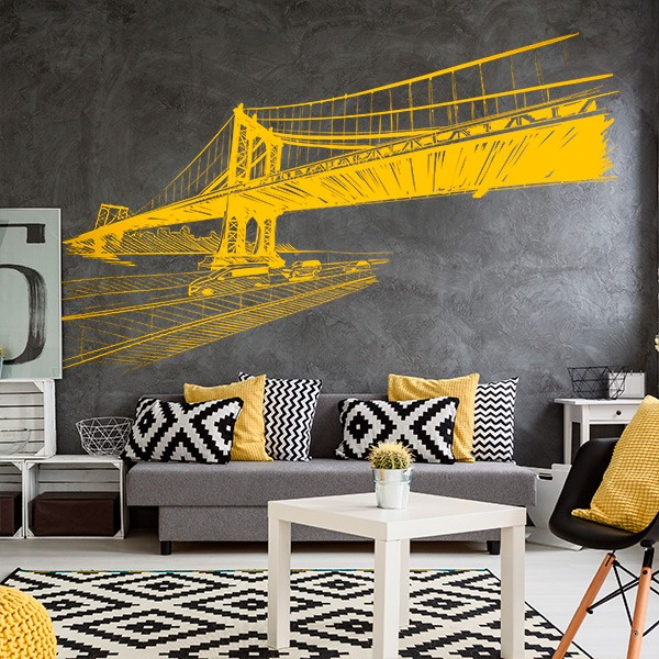 Vinil decorativo Moderno ponte