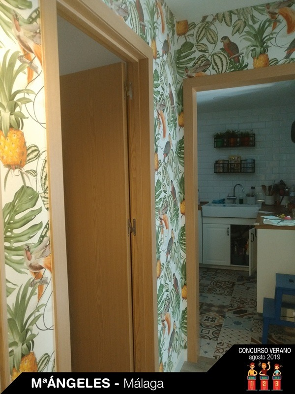 papel de parede tropical