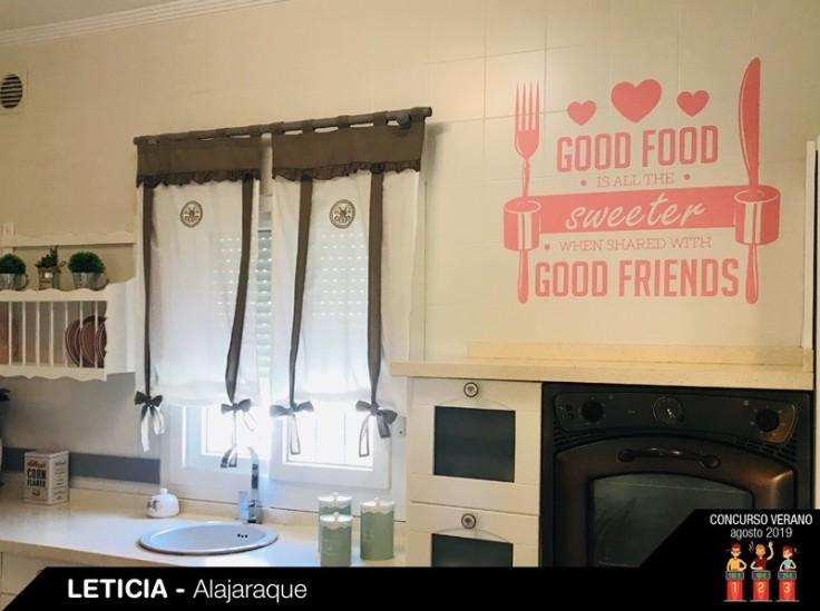 Vinilo autoadesivo de cozinha