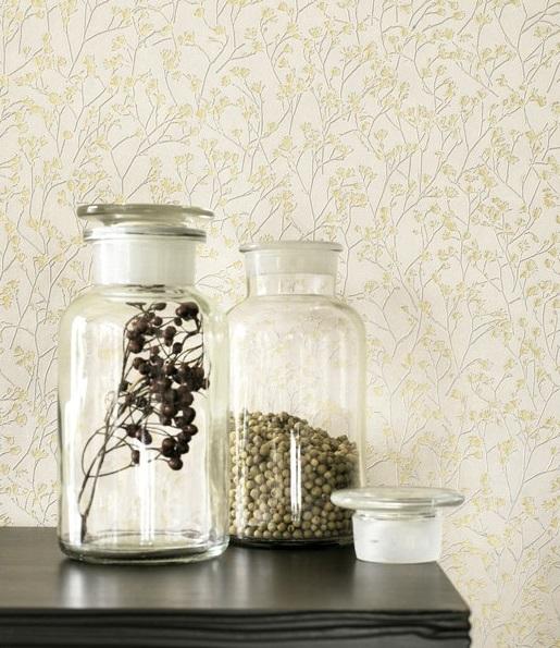 Papel de parede montana flores