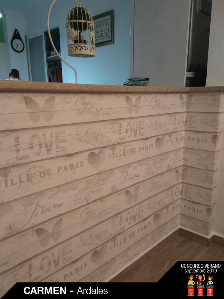 Papel de parede vintage madeira