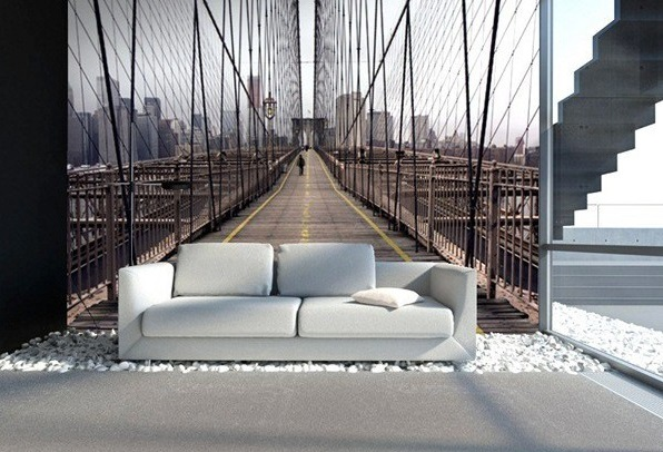 Painel ponte do brooklyn