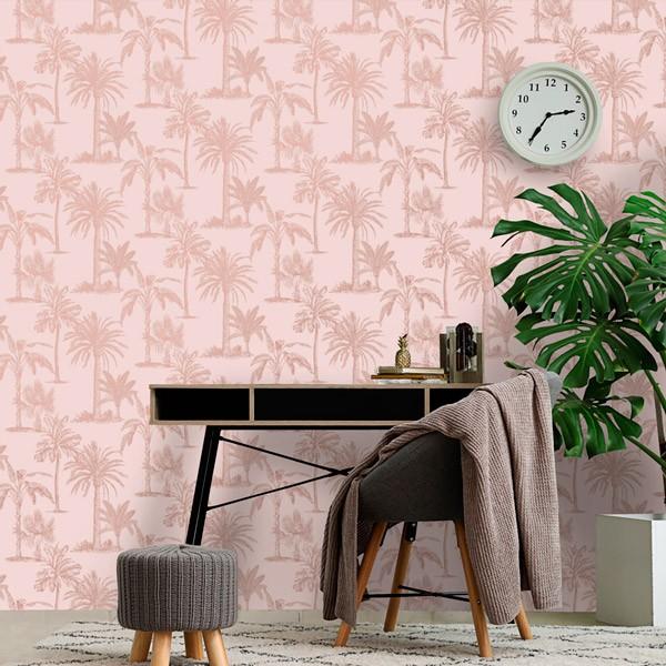 Papel de parede decorativo Natureza palmeiras