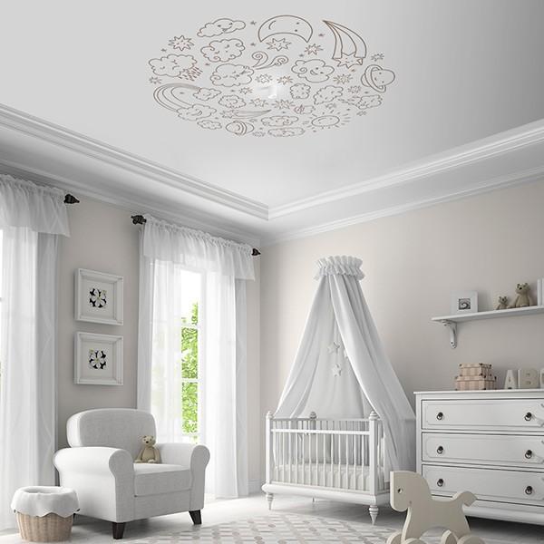 Vinil decorativo infantil para teto