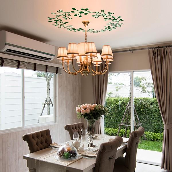 vibil ramos verdes para teto