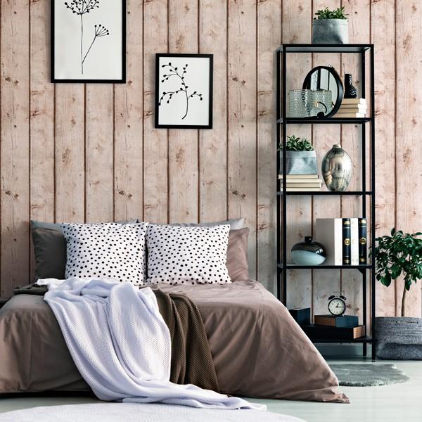 Papel de parede madeira barato ref 1024