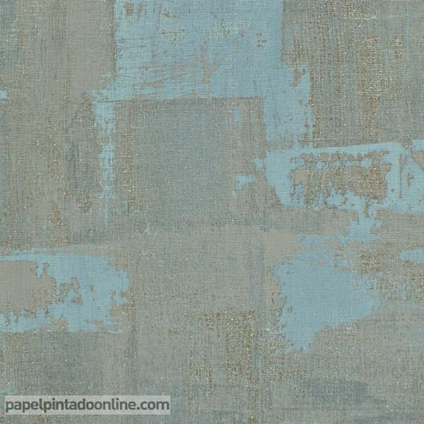 Papel de parede estilo envelhecida azul e cinza