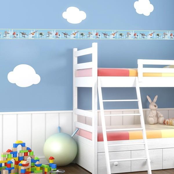 Faixa infantil para paredes Planes disney