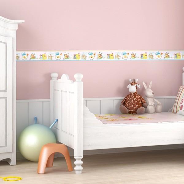 Faixa decorativa ursinho puff