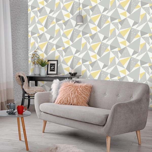 papel de parede geométrico elements