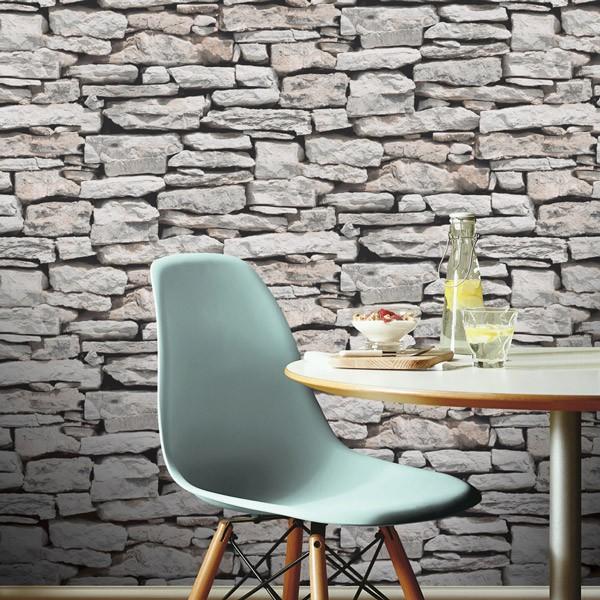 papel de parede Pedra cinza