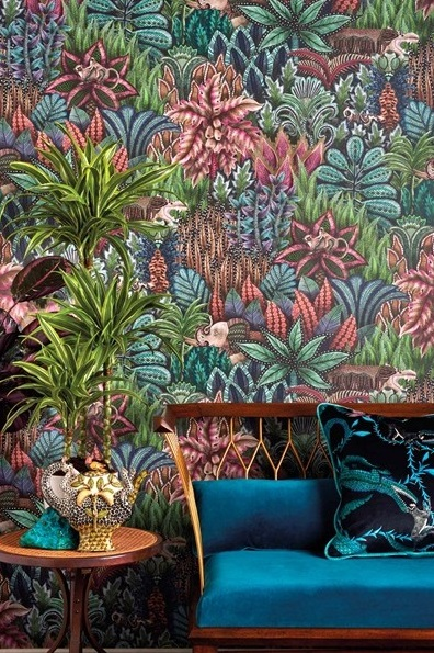 papel de parede natureza cores vivas Ardmore