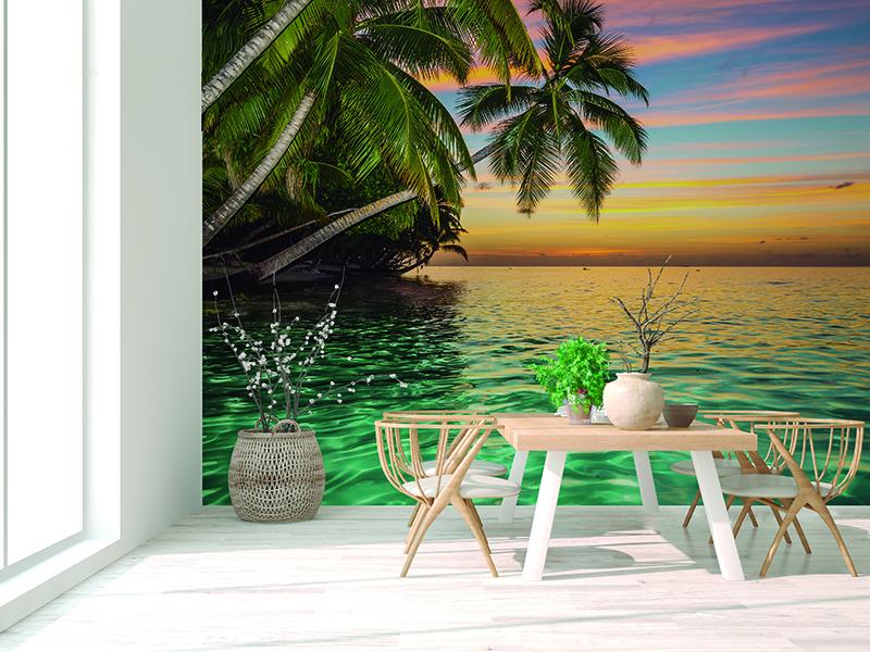 Fotomural paisagem de praia