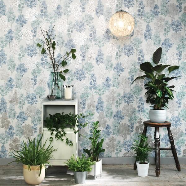 papel de parede folhas de árvores