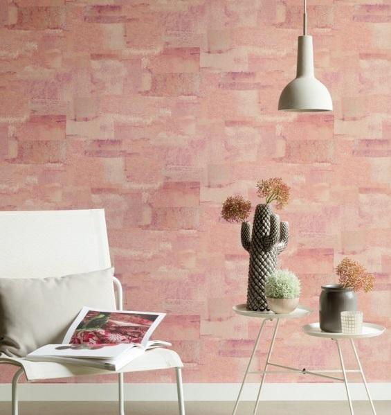 papel de parede imitação cimento