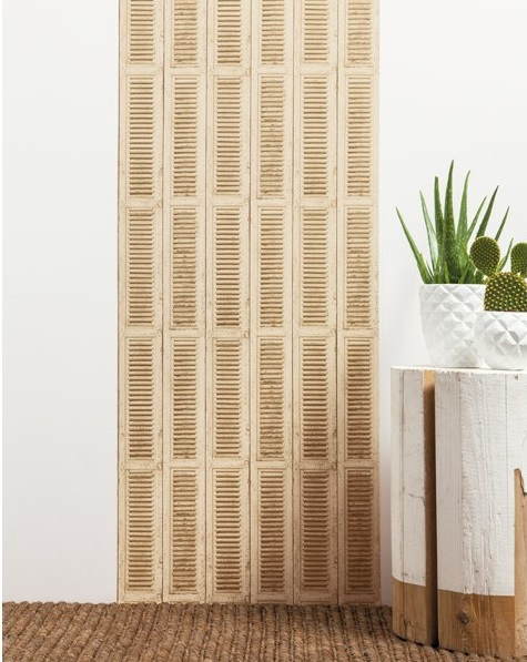 Papel de parede efeito especial porta