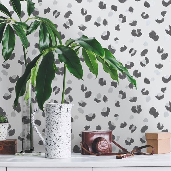 animal print papel de parede