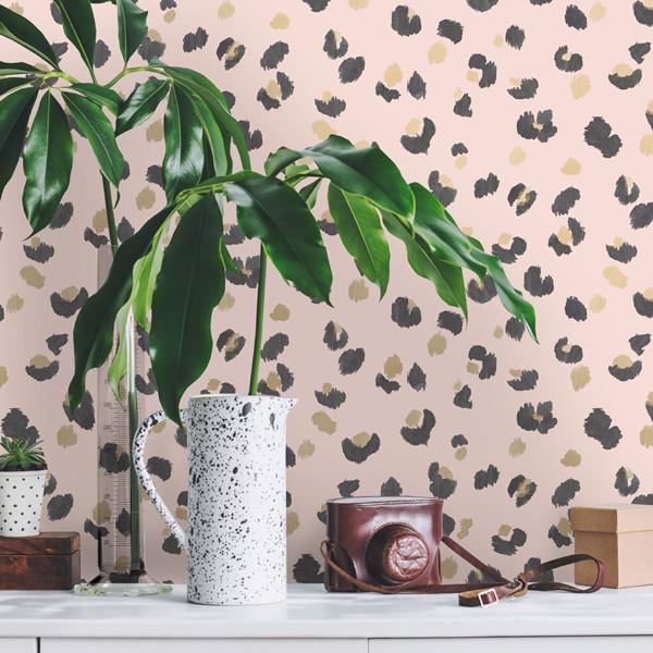 papel decorativo para paredes desenho animal print