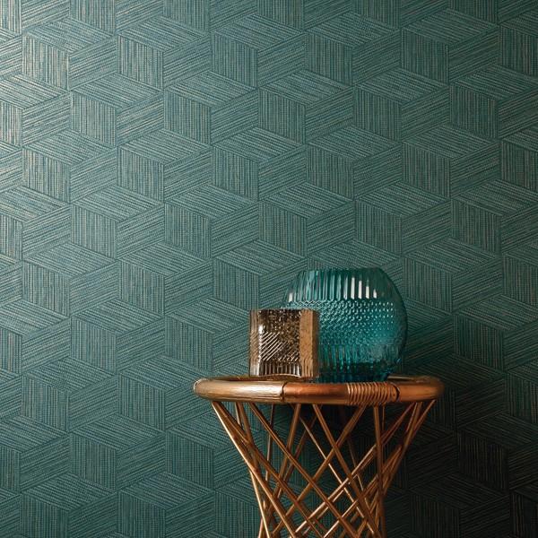 papel de parede abstrato cor verde moderno