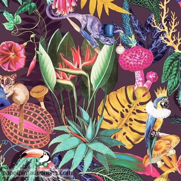 papel de parede utopia natureza tropical