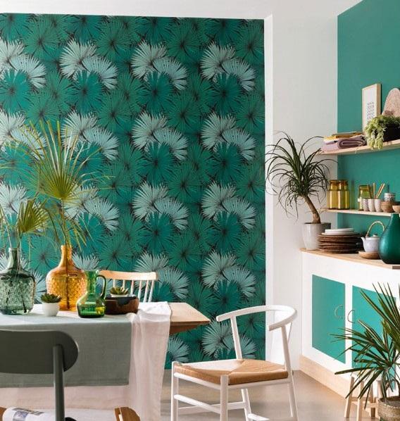 papel de parede tropical jungle