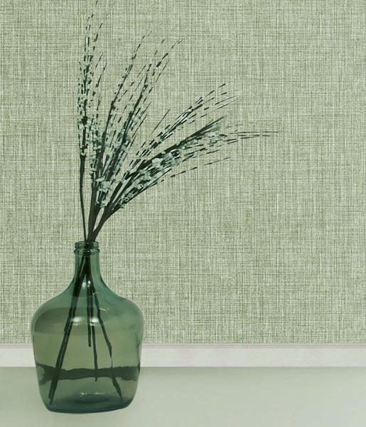 papel de parede vinilico liso verde amazzonia