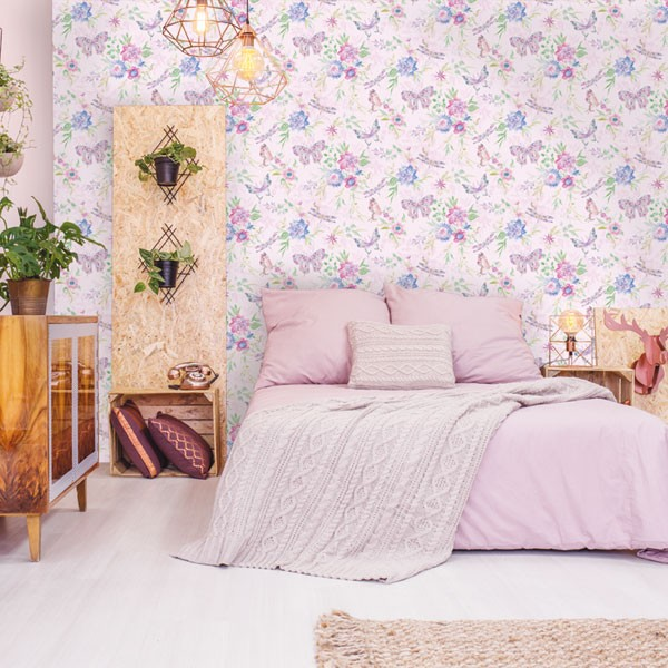 papelç de parede de borboletas