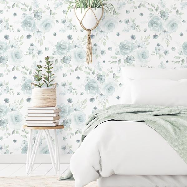 papel de parede flores