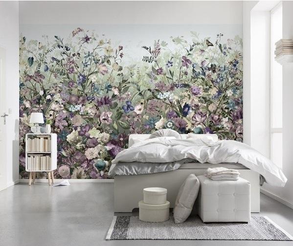 mural decorativo floral para parede