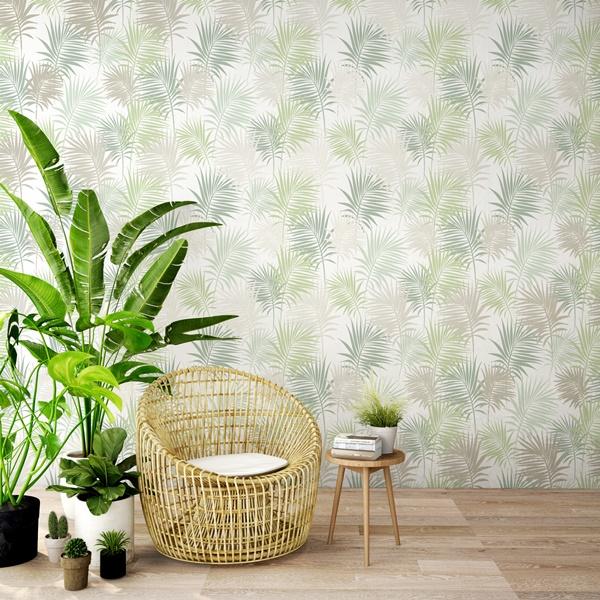 papel de parede tropicália
