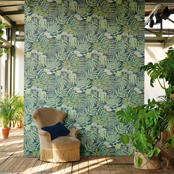 Papel de parede Botânico folhagens